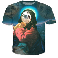 Holy Sloth In Prayer