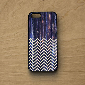 iPhone 6 Case Wood Chevron - iPhone 5 Case Wood Chevron Print - White Wood Print Phone Case - Wood Iphone Case White Chevron - Chevron