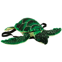 Green Turtle Plush Backpack