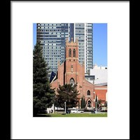 St Patricks Catholic Church In Sf Framed Print