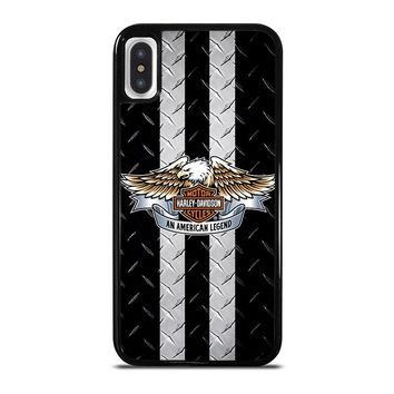 HARLEY DAVIDSON MOTORCYCLE iPhone X Case Cover