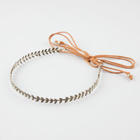 FULL TILT Metal Leaves Headband | Hair Accessories