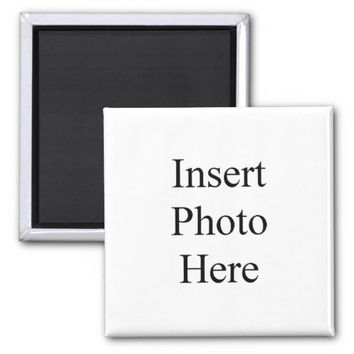 Create Your Own Custom Photo 2 Inch Square Magnet