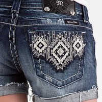 Miss Me Southwestern Stretch Short - Women's Shorts | Buckle