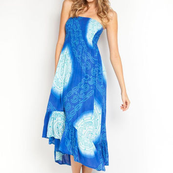 Adelle dress in paradise/scuba
