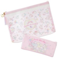 Sanrio Characters Flat Pouch Set Baby Sanrio Japan - VeryGoods.JP