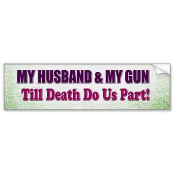 Pro Gun Alerts Bumper Sticker from Zazzle.com