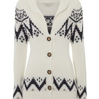 Womens Fairisle Knitted Cardigan - Knitwear - Shop Department - Womens | Peacocks
