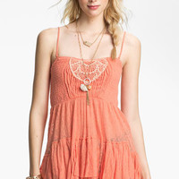 Free People Smocked Babydoll Camisole | Nordstrom