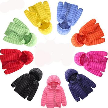 2017 Fall Winter Toddler Boys and Toddler Girls, Girls and boys Baby Down Jacket Comes in the assorted Colors of Light Blue, Orange, Pink, Yellow, Green, Red, Black, Light Pink, and Navy Blue. Sizes   2T,  3T,  4T, 5T, 6T,  8,  10,  12,  and 14 Years Old.