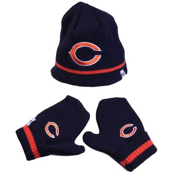 Chicago Bears - Logo Stripe Toddler Knit Set