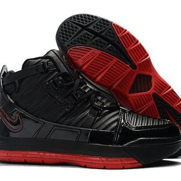 PEAP Nike Lebron 3 LBJ3 Black/Red