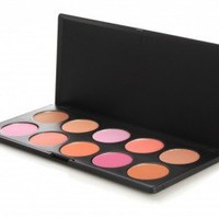 10 Color Professional Blush Palette: Face Makeup by BH Cosmetics!