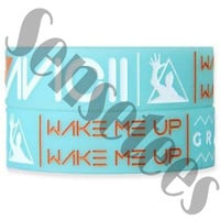 Avicii Bracelets Avicii Wake Me Up Bracelet Blue Tosca Color