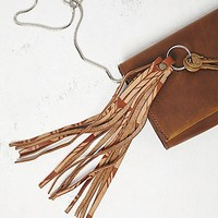 Understated Leather x Free People Womens Printed Leather Key Ring