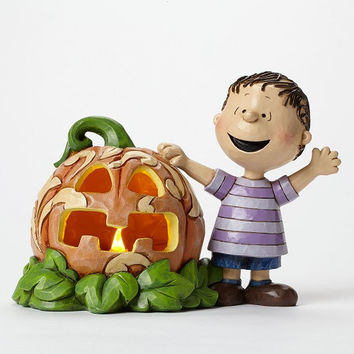 Jim Shore Peanuts Linus and the Great Pumpkin-4045887