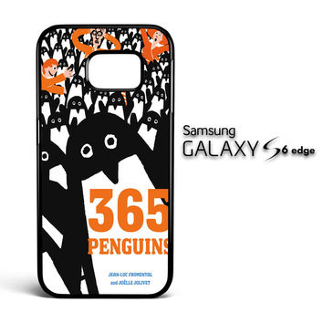 365 penguins book Y1988 Samsung Galaxy S6 Edge Case