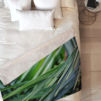 Shannon Clark Jungle Fleece Throw Blanket