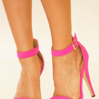 Sweetly Stepping Heels: Pink | Hope's