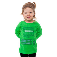 Binary Code Computer Organic Cotton Toddler Tee