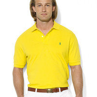 Polo Ralph Lauren Classic-Fit Short-Sleeved Cotton Mesh Polo