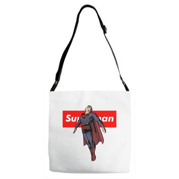 superman 2 Adjustable Strap Totes