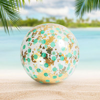 Giant Glitter Beach Ball | FIREBOX\u00ae