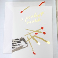 Kate Spade Greeting Card Perfect Match