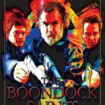 The Boondock Saints - Blacklight Velvet Poster