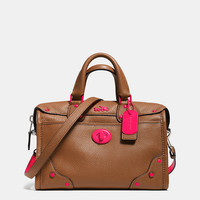 C.O.A.C.H. RHYDER 24 SATCHEL IN CALF LEATHER