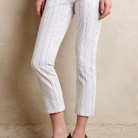 Closed Starlet Crop Jeans Ivory Stripes