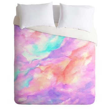 Rosie Brown Lavender Haze Duvet Cover