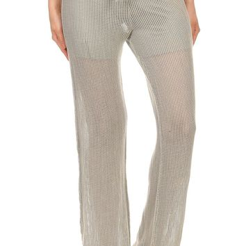 Mineral Fishnet Pants