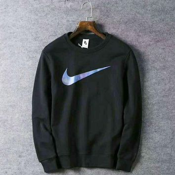 Nike Fashion Casual Sport Long Sleeve Round Neck Pullover Print Sweater G-WMGCD