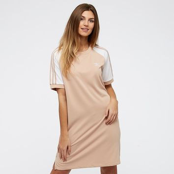 adidas Originals Womens Raglan Dress - Ash Pearl