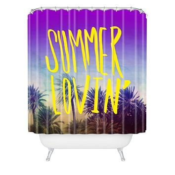 Leah Flores Summer Lovin Shower Curtain