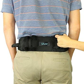 Transfer Belt W/Handles by Vive-Medical Nursing Safety Gait Assist Device-55 Inch