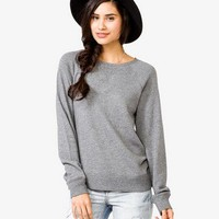 Heathered French Terry Sweatshirt