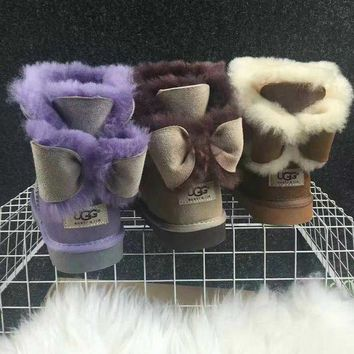 UGG Women male Fashion Wool Snow Boots-7
