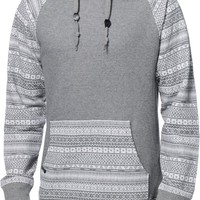 Empyre Stones Charcoal Tribal Pullover Hoodie