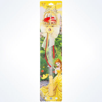 disney parks beauty and the beast belle light up dress up wand new with card