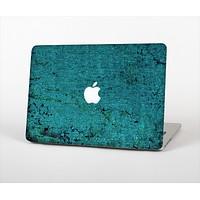 The Grungy Teal Surface Skin Set for the Apple MacBook Pro 15""