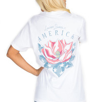 Lauren James American Magnolia Top - White