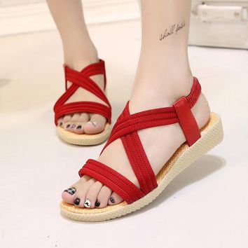 Women Shoes Sandals Comfort Sandals Summer Flip Flops 2017 Fashion High Quality Flat S