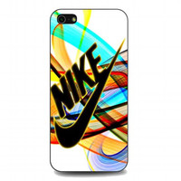 Rainbow Nike For iphone 5 and 5s case