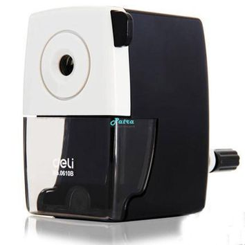 Deli Stationery mechanical Pencil sharpener manual