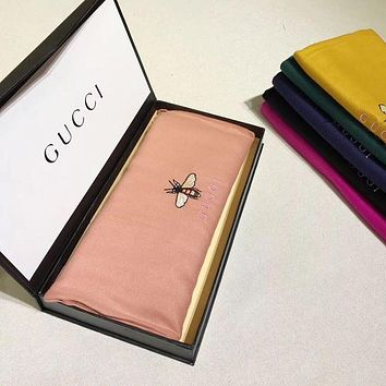 LMFON GUCCI Woman Fashion Accessories Sunscreen Cape Scarf Scarves