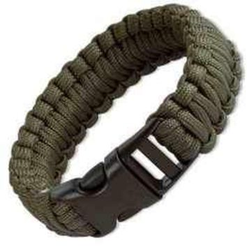 JG 9 Survival Bracelet / color Olive Drab