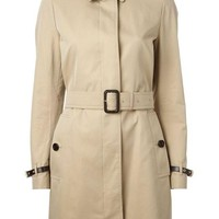 DCCKIN3 Burberry London belted trench coat