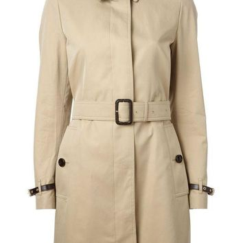 ONETOW Burberry London belted trench coat